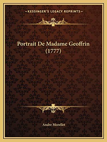 9781166146559: Portrait de Madame Geoffrin (1777)