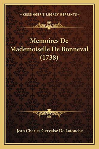 9781166297503: Memoires de Mademoiselle de Bonneval (1738)