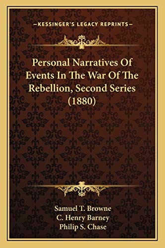 9781166322113: Personal Narratives Of Events In The War Of The Rebellion, Second Series (1880)
