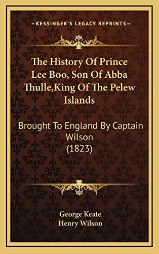 The History Of Prince Lee Boo, Son