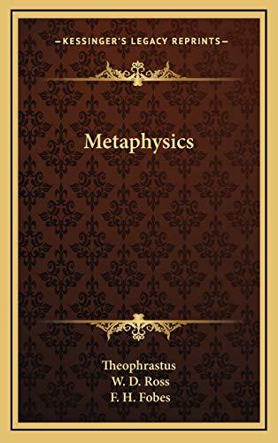 9781166392147: Metaphysics