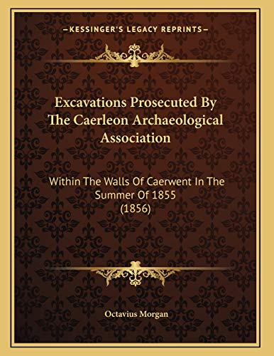9781166407186: Excavations Prosecuted By The Caerleon Archaeological Association: Within The Walls Of Caerwent In The Summer Of 1855 (1856)