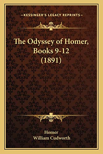 9781166434731: The Odyssey of Homer, Books 9-12 (1891)