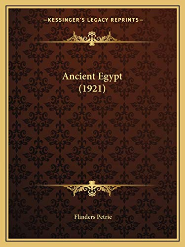 9781166436407: Ancient Egypt (1921)