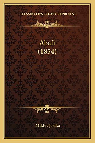 9781166484033: Abafi (1854) (Hungarian Edition)