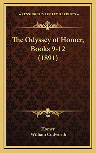 9781166494568: The Odyssey of Homer, Books 9-12 (1891)