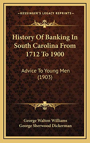 History Of Banking In South Carolina From