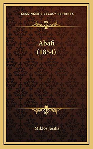 9781166540692: Abafi (1854) (Hungarian Edition)