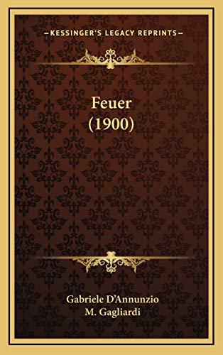 9781166544195: Feuer (1900)