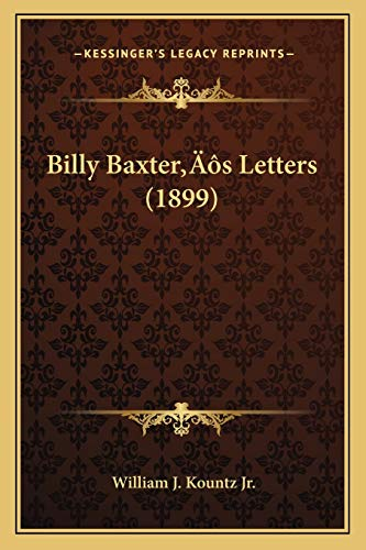 Billy Baxter: William J. Kountz