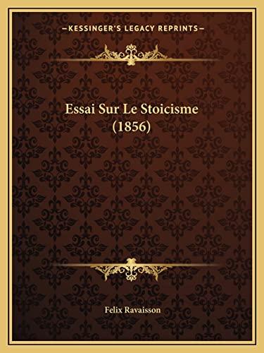 9781166710200: Essai Sur Le Stoicisme (1856)