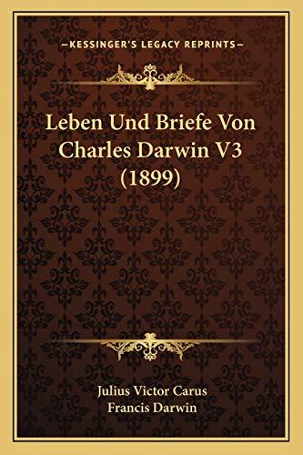 9781166780166: Leben Und Briefe Von Charles Darwin V3 (1899)