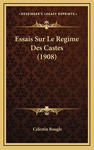 9781166848637: Essais Sur Le Regime Des Castes (1908)