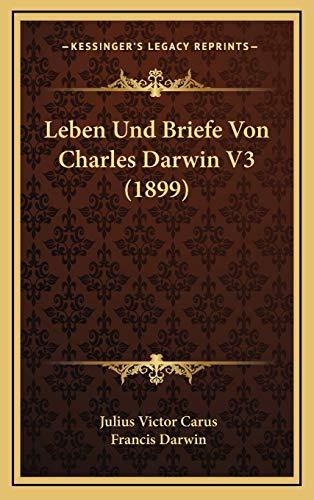 9781166869793: Leben Und Briefe Von Charles Darwin V3 (1899)