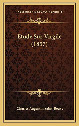 9781166878726: Etude Sur Virgile (1857) (French Edition)