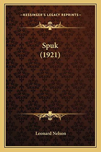 9781166975487: Spuk (1921)