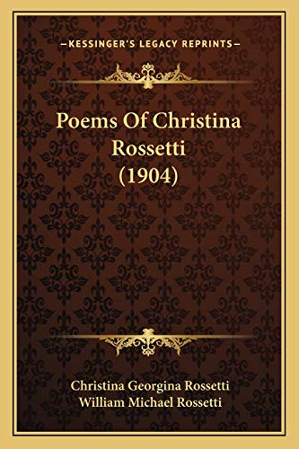 9781167006128: Poems of Christina Rossetti (1904)