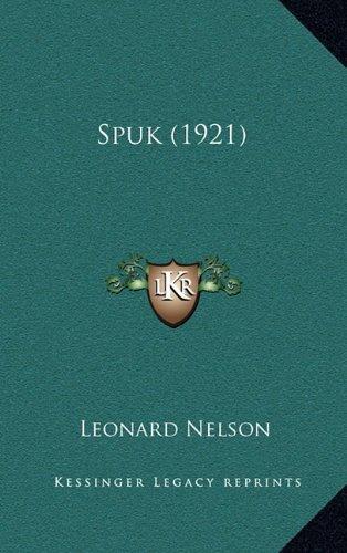 9781167088513: Spuk (1921)