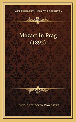 9781167098031: Mozart in Prag (1892)