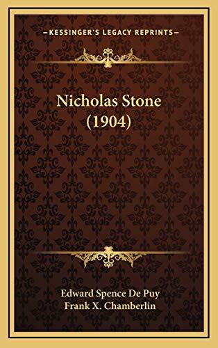 9781167101328: Nicholas Stone (1904)