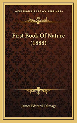 9781167101342: First Book Of Nature (1888)