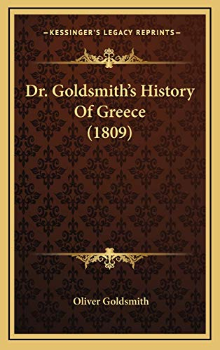 9781167110214: Dr. Goldsmith's History Of Greece (1809)