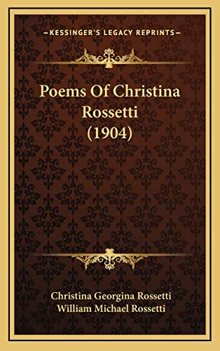 9781167121845: Poems of Christina Rossetti (1904)