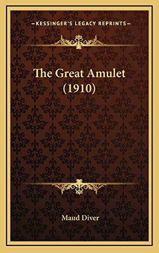 9781167131042: The Great Amulet (1910)