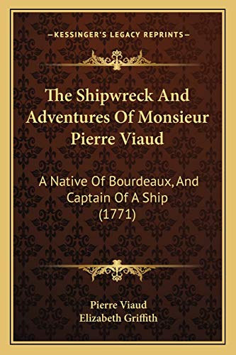 The Shipwreck And Adventures Of Monsieur Pierre