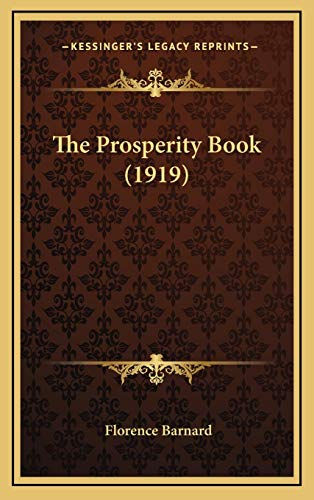 9781167266195: The Prosperity Book (1919)