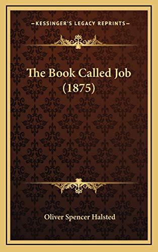 9781167269011: The Book Called Job (1875)