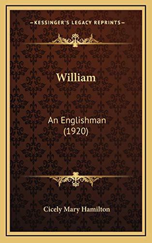 9781167284311: William: An Englishman (1920)