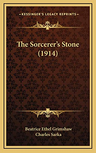 9781167291111: The Sorcerer's Stone (1914)