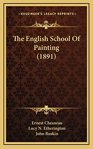 9781167301230: The English School Of Painting (1891)