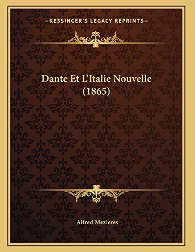 9781167351327: Dante Et L'Italie Nouvelle (1865)
