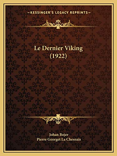 9781167459559: Le Dernier Viking (1922)