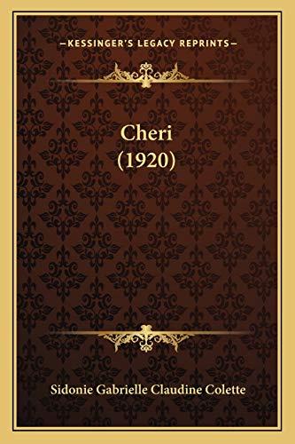 9781167536069: Cheri (1920)