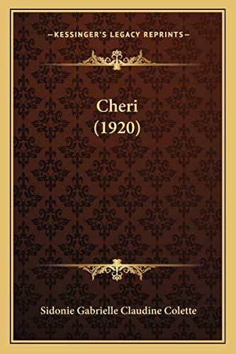 9781167536069: Cheri (1920) (French Edition)
