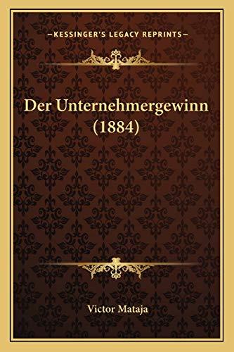9781167559716: Der Unternehmergewinn (1884)