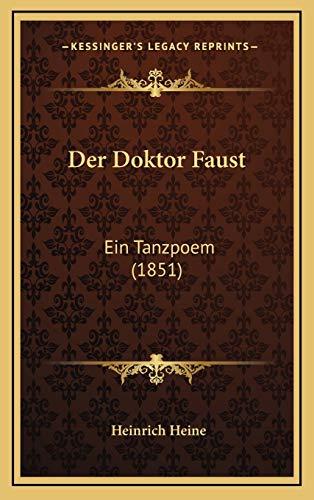 9781167737664: Der Doktor Faust: Ein Tanzpoem (1851)