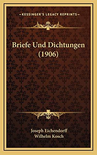 9781167740244: Briefe Und Dichtungen (1906)