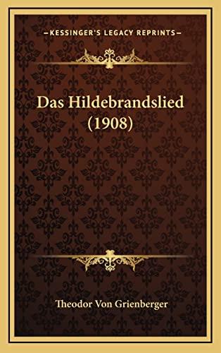 9781167743535: Das Hildebrandslied (1908)