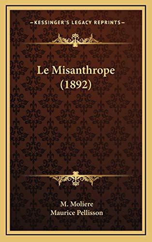 9781167746734: Le Misanthrope (1892)