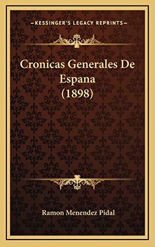 9781167809262: Cronicas Generales de Espana (1898)