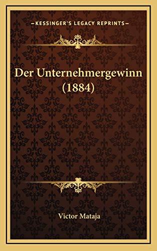 9781167828362: Der Unternehmergewinn (1884)