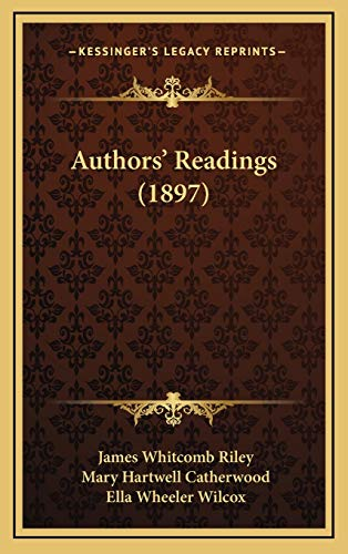 9781167834387: Authors' Readings (1897)