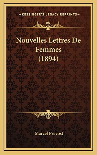 9781167862243: Nouvelles Lettres de Femmes (1894)