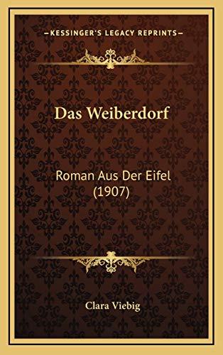 9781167875700: Das Weiberdorf: Roman Aus Der Eifel (1907)