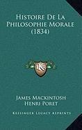 9781167968655: Histoire de La Philosophie Morale (1834)