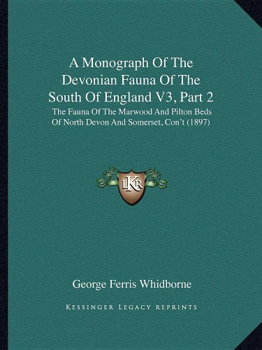 A Monograph Of The Devonian Fauna Of